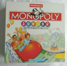 Monopoly Junior Ages 5 to 8 - funfair theme / pre-loved / Free P&P