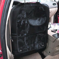 1X Car Back Seat Multi Pocket Organiser Storage Bag Tidy Kids Travel Bag Holder!
