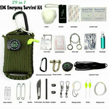 29 in 1 Outdoor Camping Emergency Tactical Survival Kit 550 EDC Gear Tool Bag