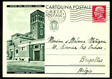 ITALY ~1940 picture postal stationery (police building) Michel # P78 = 45 € !!