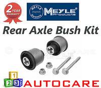 Audi Seat Skoda Volkswagen VW Meyle Rear Axle Bush Kit inc Bolts 1147100009S
