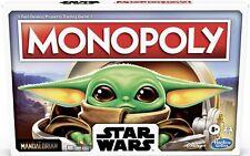 Hasbro Monopoly Star Wars The Child Mandalorian Baby Yoda Gameboard Age 8 F2013