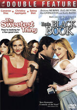 NEW! ~ The Sweetest Thing + Little Black Book (2 DVDs, Widescreen & FS) ROMANCE
