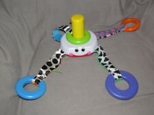 VINTAGE FISHER PRICE LEARNING PATTERNS STACKING SURPRISE OCTOPUS RING STACK TOY