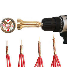 Universal Connector Electrical Drill Bit Cable Wire Quick Stripper 12AWG Twister