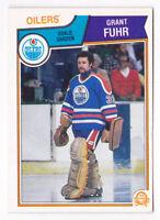 83-84 OPC Grant Fuhr Edmonton Oilers 1983