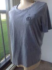 Ralph Lauren T-shirt gray cotton fits like Large