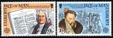 (Ref-11986) Isle of Man 1982 Europa - Historic Events  SG.216/217 Mint MNH