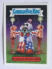 Garbage Pail Kids Sticker Revenge Of Oh The Horror-Ible 5a Sparkling Spaulding