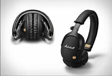 Marshall Monitor Bluetooth Genuin Wireless Headphones Headset Bass Mic Studio