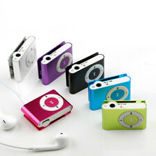 UK Portable Digital MP3 Player Clip USB Music Play Support 18GB Micro SD TF Card
