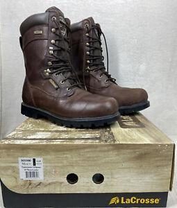 LaCrosse Hyper-Dri Men's Timbermaster 1200 gram Thinsulate Hunting Boots Sz 11.5