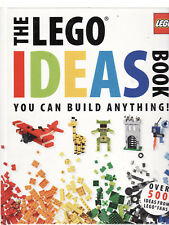 THE LEGO IDEAS BOOK : YOU CAN BUILD ANYTHING ! - LIPKOWITZ  cg