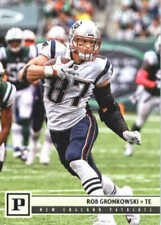 Carte collezionabili football americano rob gronkowski