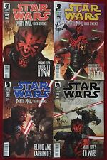 Star Wars: Darth Maul - Death Sentence (2012) #1-4 - Comic Books - Signed Set