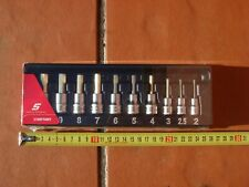 Snap On 10 pieces Metric Hex Socket Drive Set 210EFTAMY