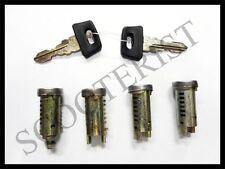 Vespa LML PX P PE T5 Star Stella Lusso My Handle Steering Toolbox Lock Set of 4