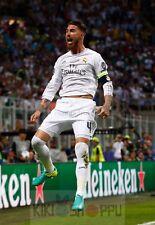 Poster A3 Sergio Ramos Real Madrid Futbol 09