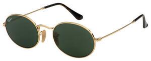 Ray-Ban Sunglasses RB 3547N 001 54 Gold | Green Classic G-15 Lens