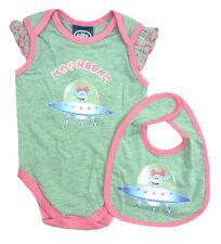 BABY 9/12 Months MANCHESTER CITY Babygrow Bib Set Football Bodysuit Romper Suit