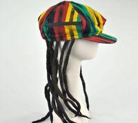 Rasta Imposta Dreadlock Hat NWT Zipper Side Pocket Weed Stash! NEW Reggae