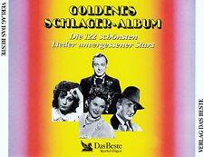 GOLDENES SCHLAGER-ALBUM, DIE 122 SCHÖNSTEN LIEDER UNVERGESSENER STARS / 5 CD-SET