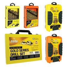 Alpha METRIC & IMPERIAL HSS Gold Series Drill Bit Set