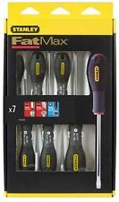 Stanley Fatmax® 7 Piece Parallel / Flared / Pozidrive Screwdriver Set 065425