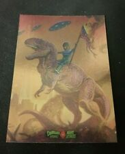2016 Mars Attacks Occupation Foil Dinosaurs Attack The Lost World Extra