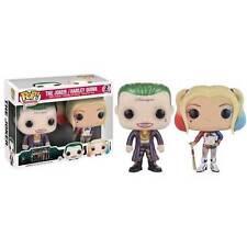 Funko Suicide Squad Metallic Joker and Harley Quinn Pop Vinyl Figures