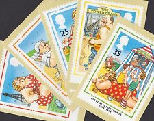 Great Britain GB 1994 Unused Full Set PHQ Stamp Cards No 160 Pictorial Postcards