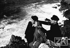 LAURENT TERZIEFF H-G. Clouzot WIENER Tournage Finistère Mer Photo 1968