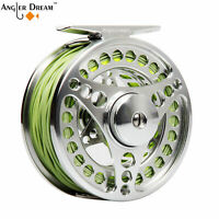 Fly Fishing Reel Fly Line Combo 3-4 5-6 7-8 9-10WT CNC Machined Reel Optional