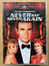 Never Say Never Again DVD 1983 James Bond Film Classic Rare w/ Sean Connery