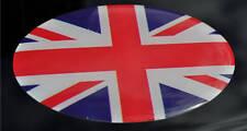 BANDIERA UNION JACK 3D in Resina a Cupola Inghilterra Adesivo Autoadesivo resistente alle intemperie