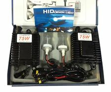 12V 75W H11 Xenon HID Conversion Kit 4300K/6000K/8000K 1 Year Warranty Hot Sales
