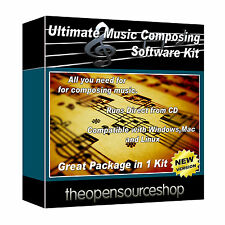 Professional Music Composing Software Package- Learn To Make Music At Home
