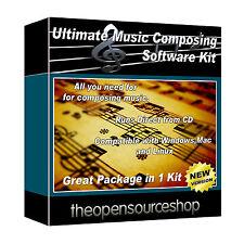 Musique professionnels composer package logiciel-apprendre à faire de la musique à la maison