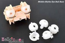 ☆╮Cool Cat╭☆【Middie Blythe】Replacement Eye Ball Base x 2Pcs # White