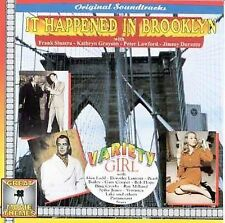 It Happened in Brooklyn/Variety Girl by Original Soundtrack (CD, Mar-1999, Great