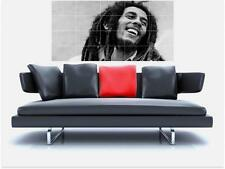 "Bob Marley masiva 59 ""x 31 pulgadas sin bordes de azulejo mosaico Pared Poster Reggae"