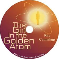 The Girl in the Golden Atom Ray Cummings Sci-Fi Audiobook unabridged on 1 MP3 CD