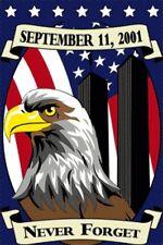 2'x3' Never Forget 9-11 Garden Flag September 11 911 Usa 2x3 Feet 24x36 Inches