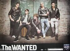 The Wanted Promo Poster From Thailand - Group Standing Against Brick Wall