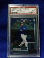 1998 DONRUSS PREFERRED#1 KEN GRIFFEY JR PSA GRADE7