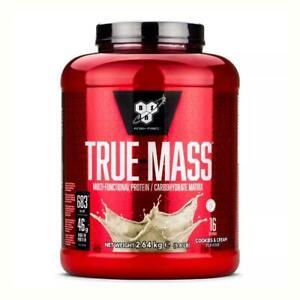 BSN True Mass 6 Fast Absorbing Protein Workout Training Supplement - 2.6kg