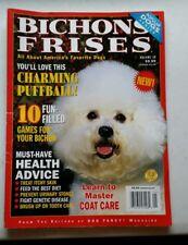 BICHON FRISES Dog Volume 30 Care Feeding Health Celebration of the Breed pb