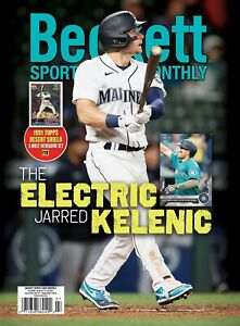 New July 2021 Beckett SPORTS CARD MONTHLY Price Guide with JARRED KELENIG 62118