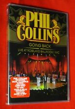 BRAND NEW Phil Collins Going Back Live at Roseland Ballroom NYC WS DVD Dolby DTS
