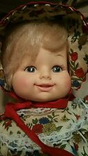 1976 Horsman Doll Girl baby doll in Clothes /Dress -  vintage doll